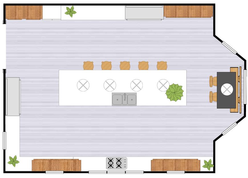 Kitchen Design Software | Free Online Kitchen Design App, Templates ...
