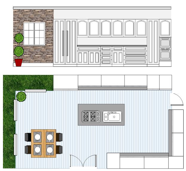 kitchen design software free online kitchen design app templates rh smartdraw com kitchen design software 2020 kitchen design software download