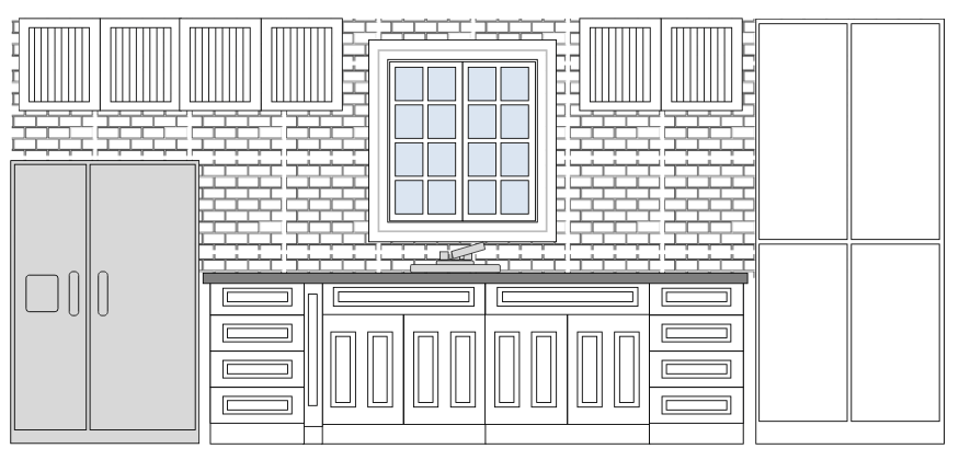 Storage design software free easy download for Draw kitchen floor plan
