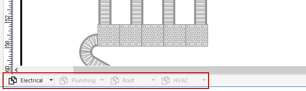 Warehouse layer tabs