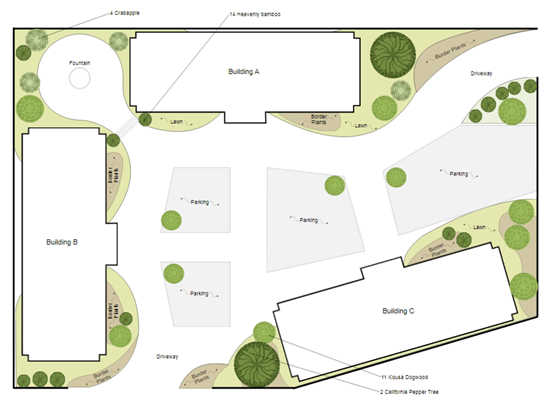 Site Plan | Free Download & Online App Draw Site Map on