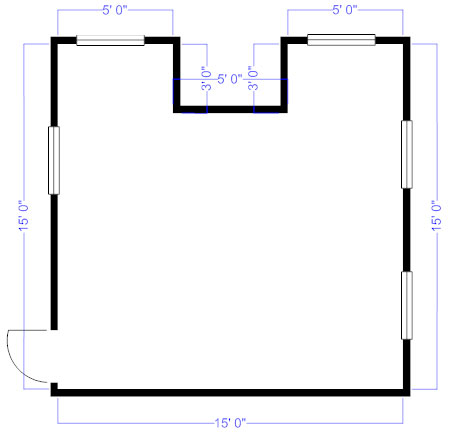 How to measure and draw a floor plan to scale floor plan perimeter malvernweather Choice Image