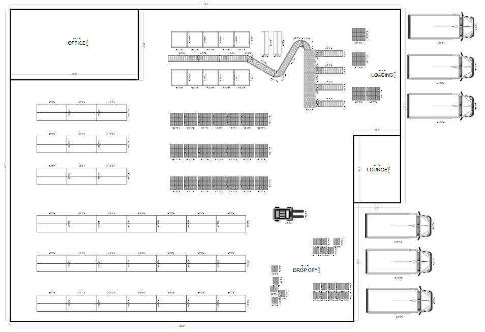 Plant layout, facility plans, and more