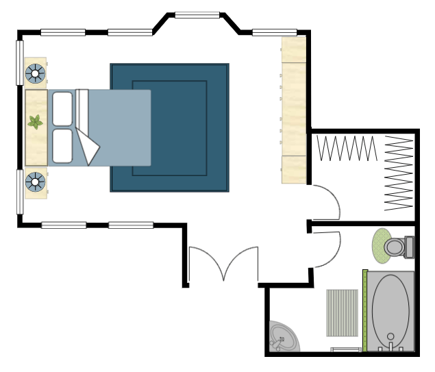 Room layout tool
