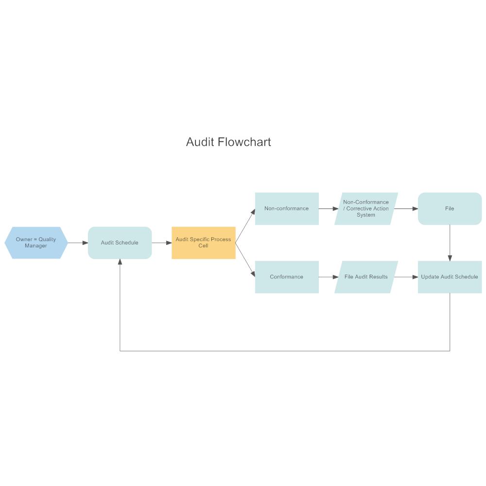 Example Image: Audit Flowchart