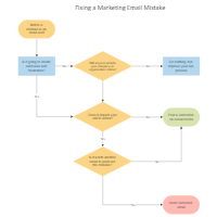 Marketing Email Correction Process