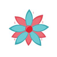 Flower Chart 04