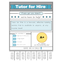 Tutoring Flyer