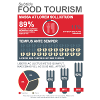 Food and Lifestyle Infographic