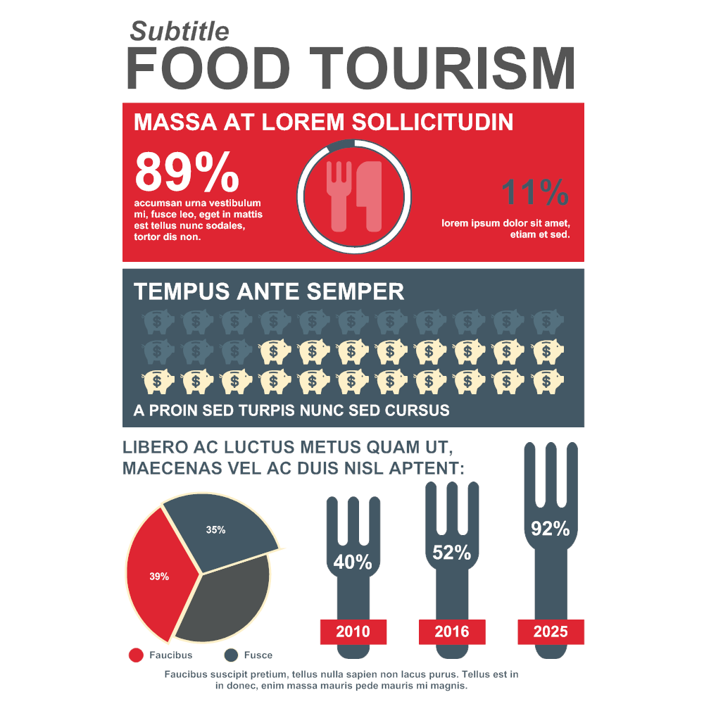 Example Image: Food and Lifestyle Infographic