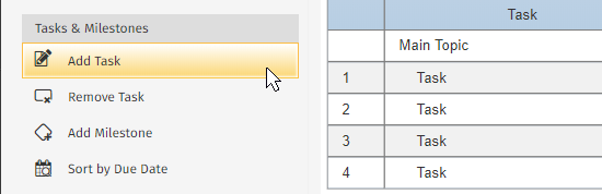 How to create a gantt chart with smartdraw project management add a gantt chart task ccuart Images