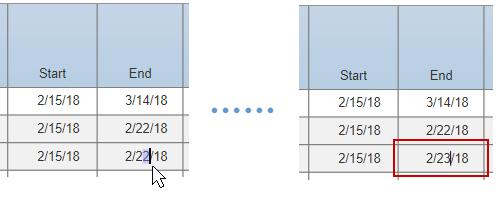 Adjust task due dates