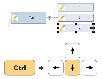 Project keyboard shortcuts