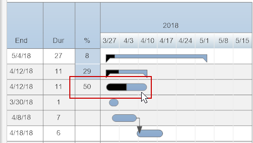 How to create a gantt chart with smartdraw project management tracking task progress ccuart Images