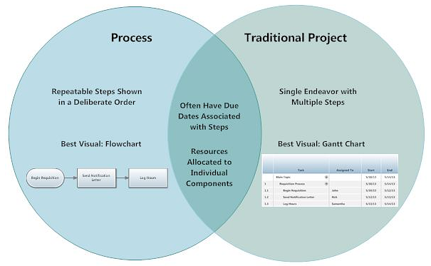 Process vs. Project