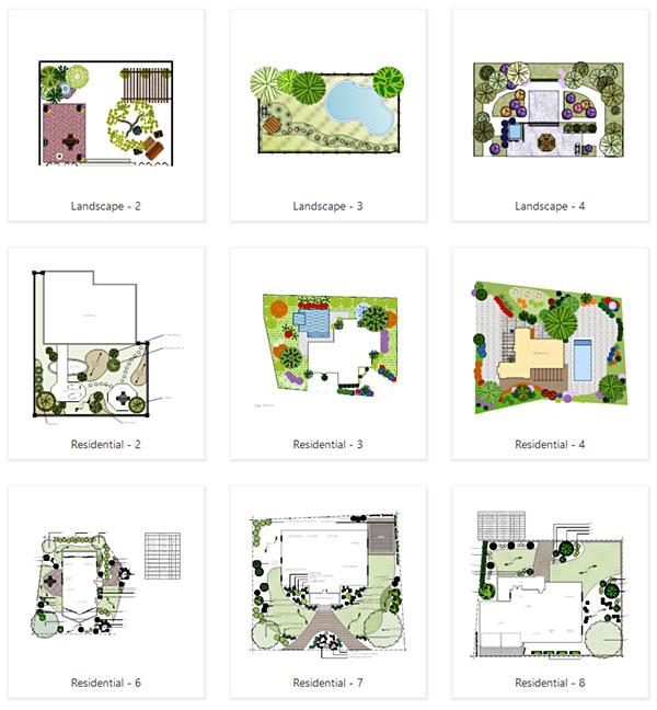 garden templates - Garden Design Layout Plans