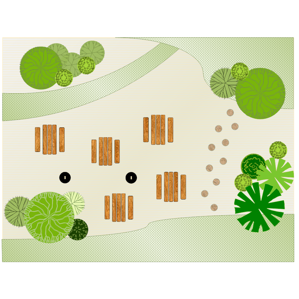 Example Image: Garden Layout