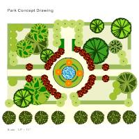 garden plan - Garden Design Template