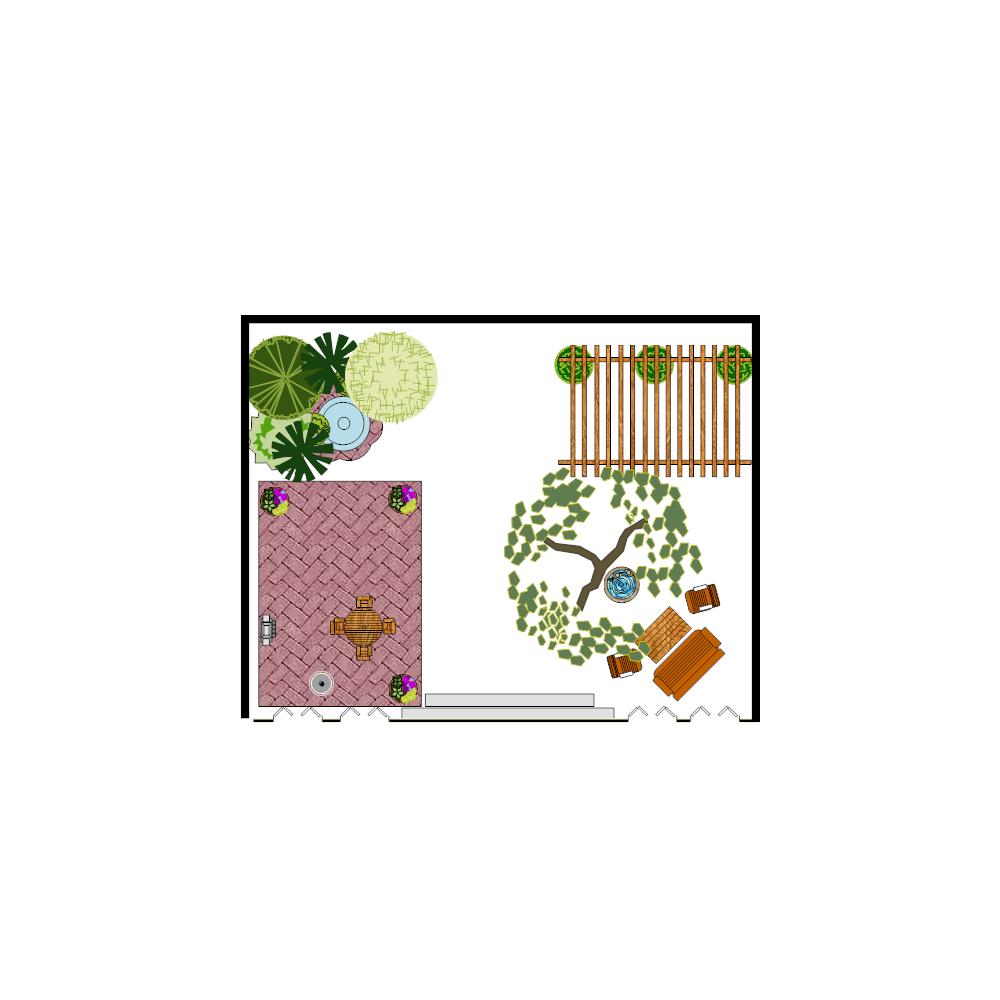 Example Image: Patio Design Plan