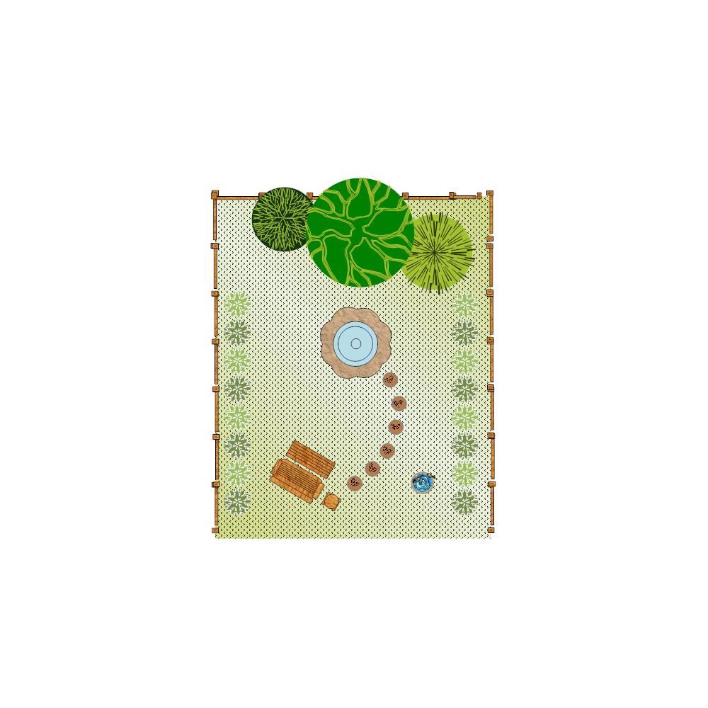 Example Image: Yard Plan