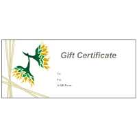 Gift Certificate Template 12