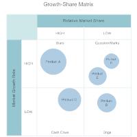 Growth Share Matrix Template