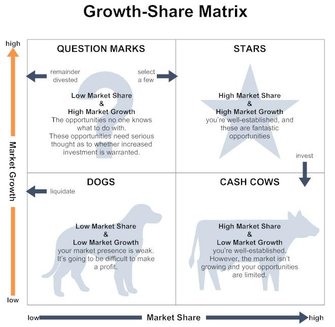 Growth-Share Matrix Example