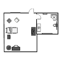 Patient Room Floor Plan