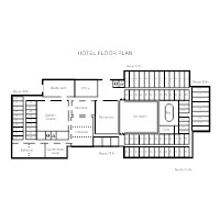 Hotel Space Plan