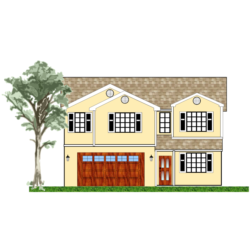 Example Image: House Exterior Plan