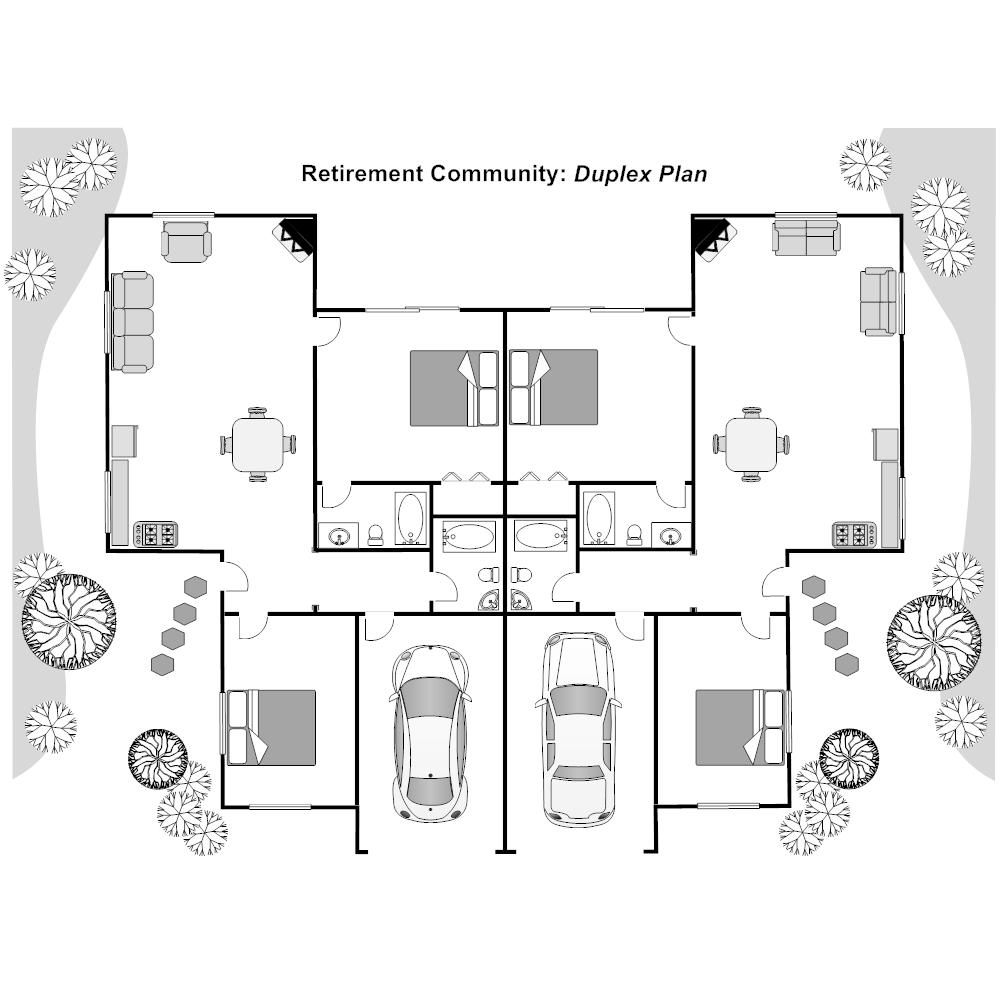 Example Image: Duplex Plan