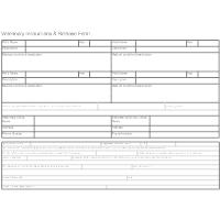 Vet Instructions & Release Form