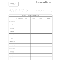 Salary Analysis Template - 1