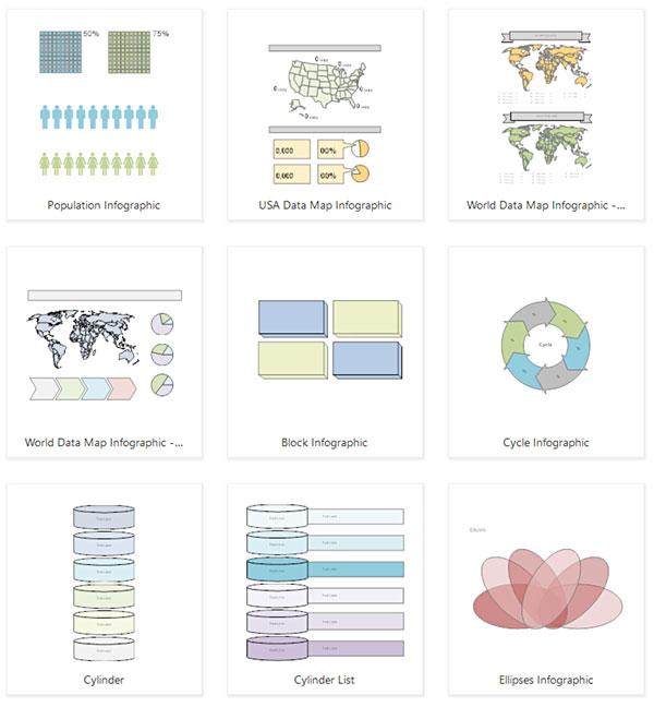 Infographic templates
