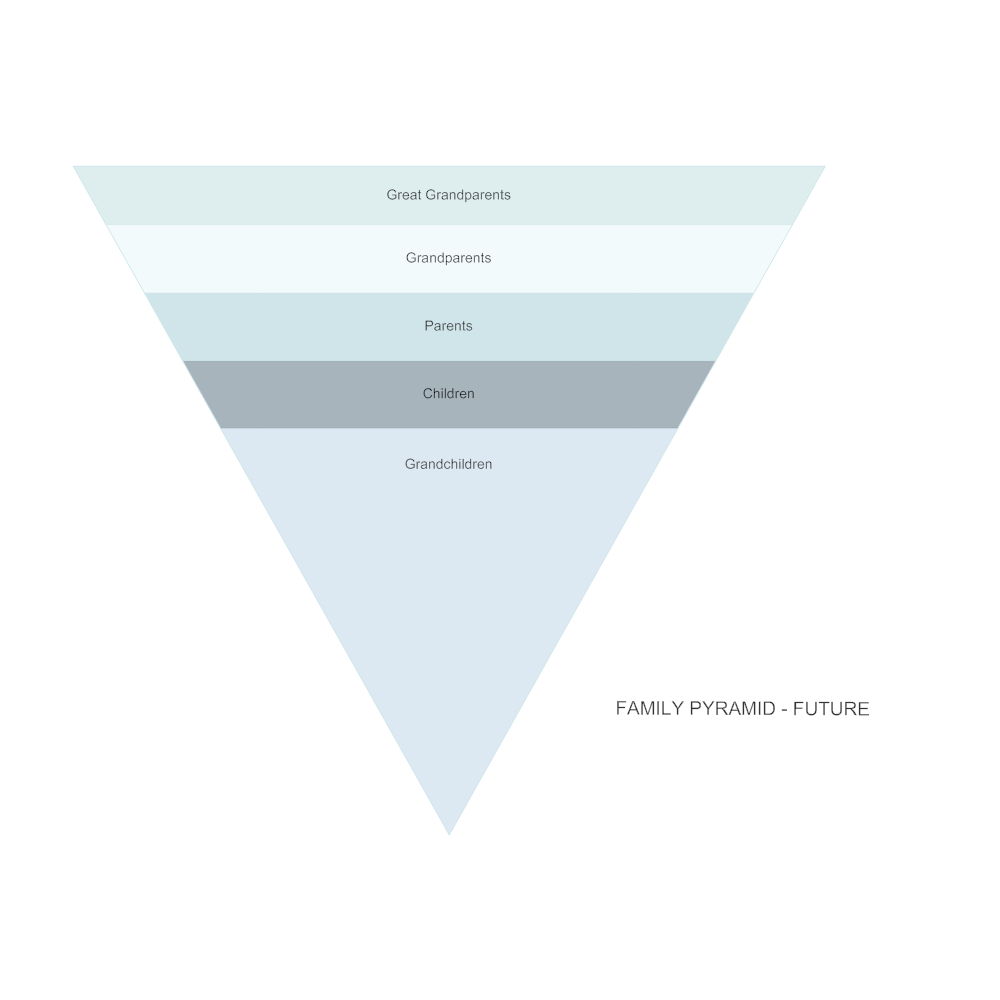 Example Image: Family Pyramid - Future