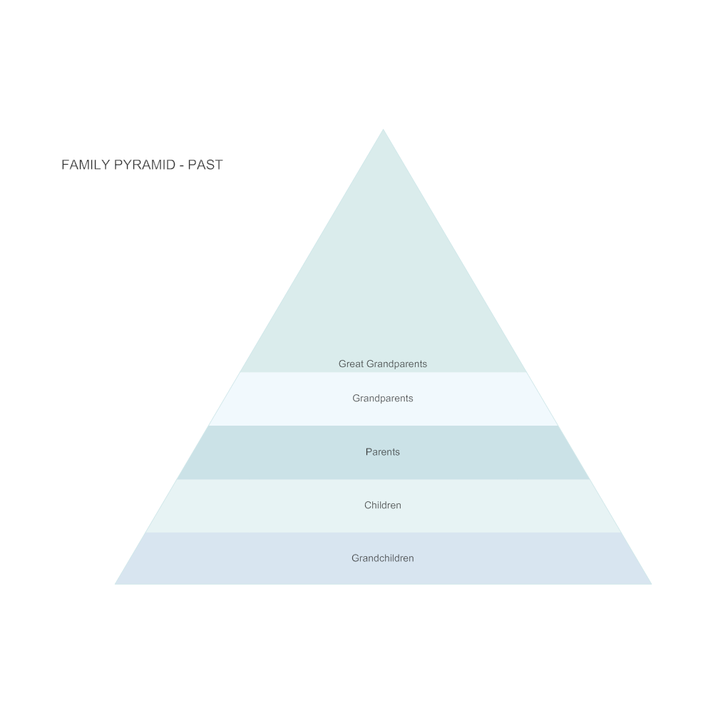 Example Image: Family Pyramid - Past