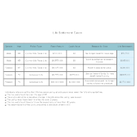 Life Settlement Examples