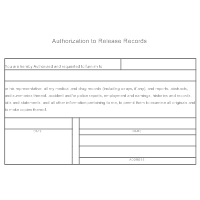 Authorization to Release Records