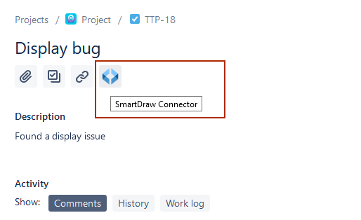 Find the SmartDraw Connector