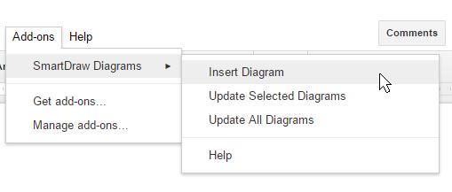 Insert diagram into Google doc