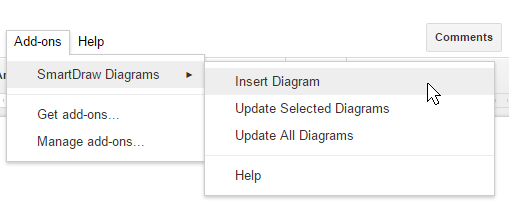 Insert and update diagrams