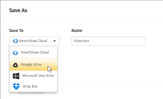 how to save to google drive from windows
