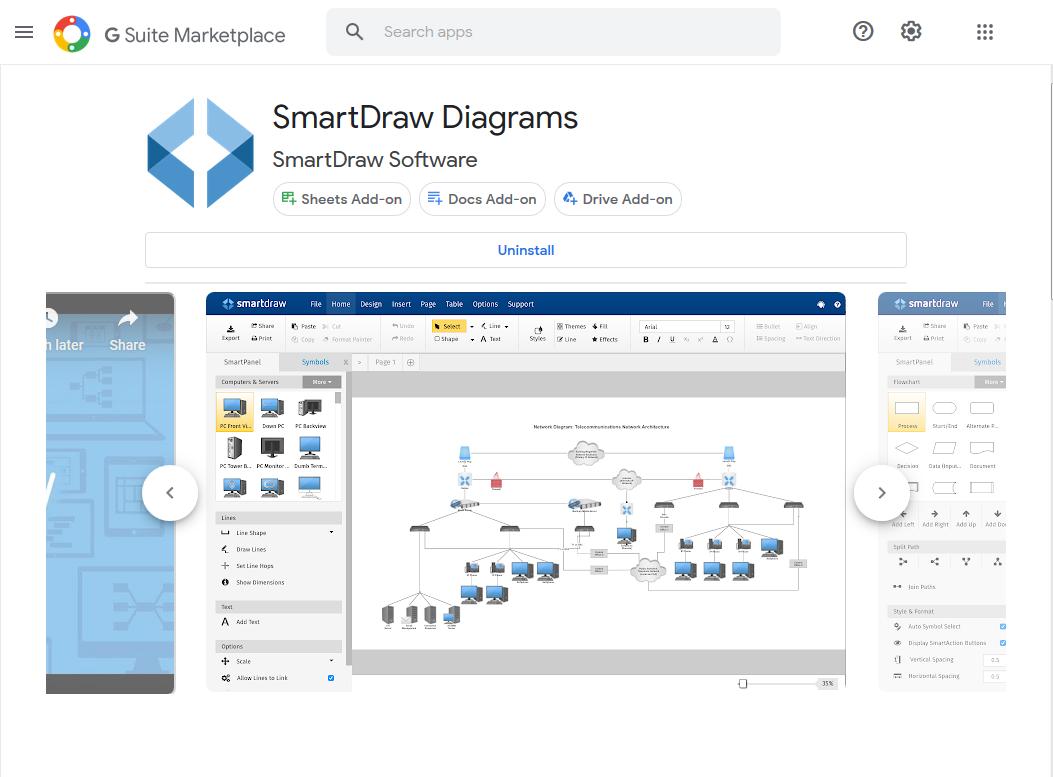 Get the SmartDraw Add-On