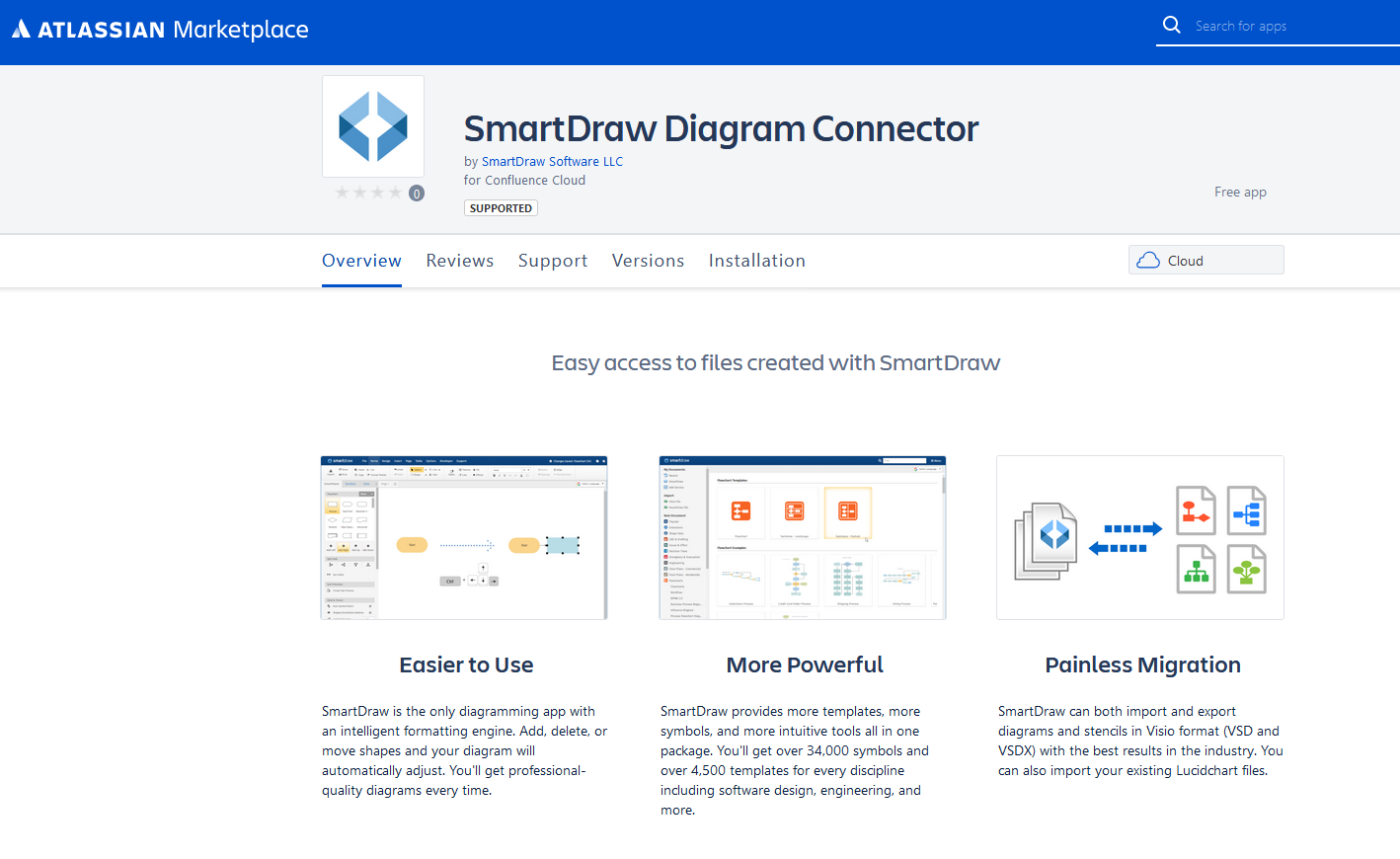 Get the SmartDraw Connector for Confluence