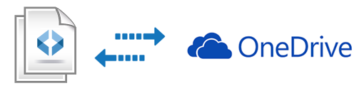 Save and Share Diagrams on OneDrive