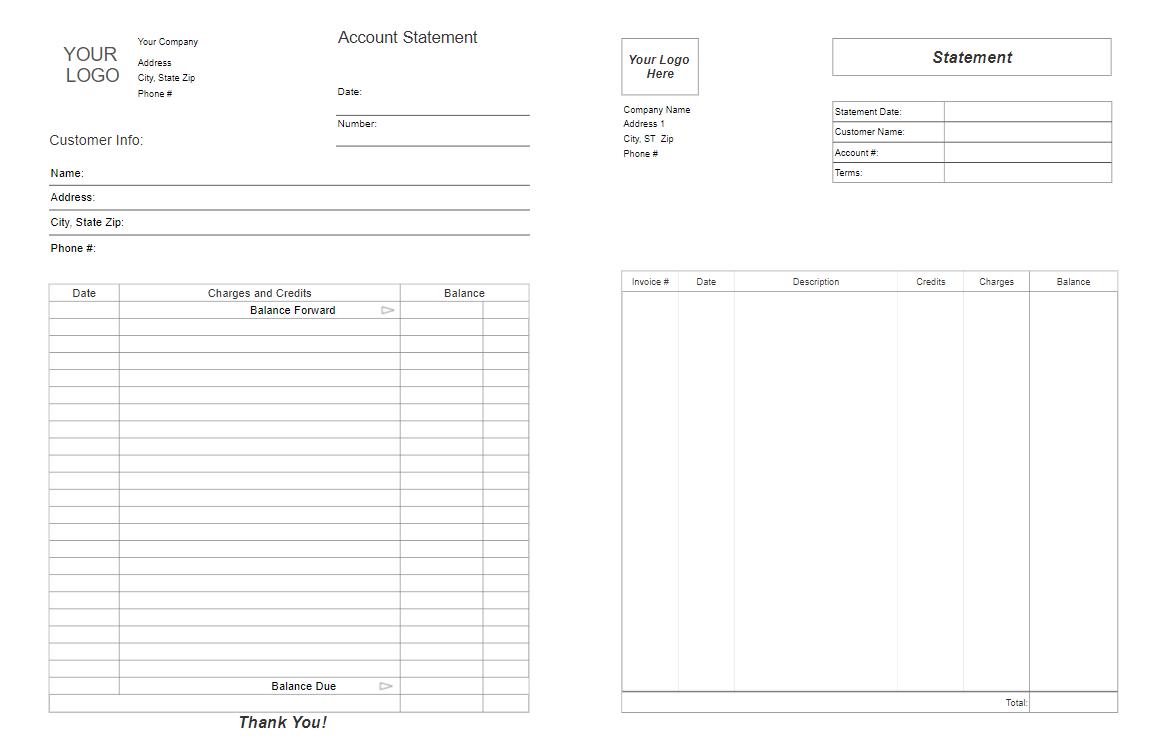retail receipt template