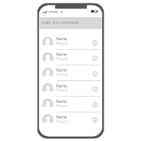 iOS - Contacts