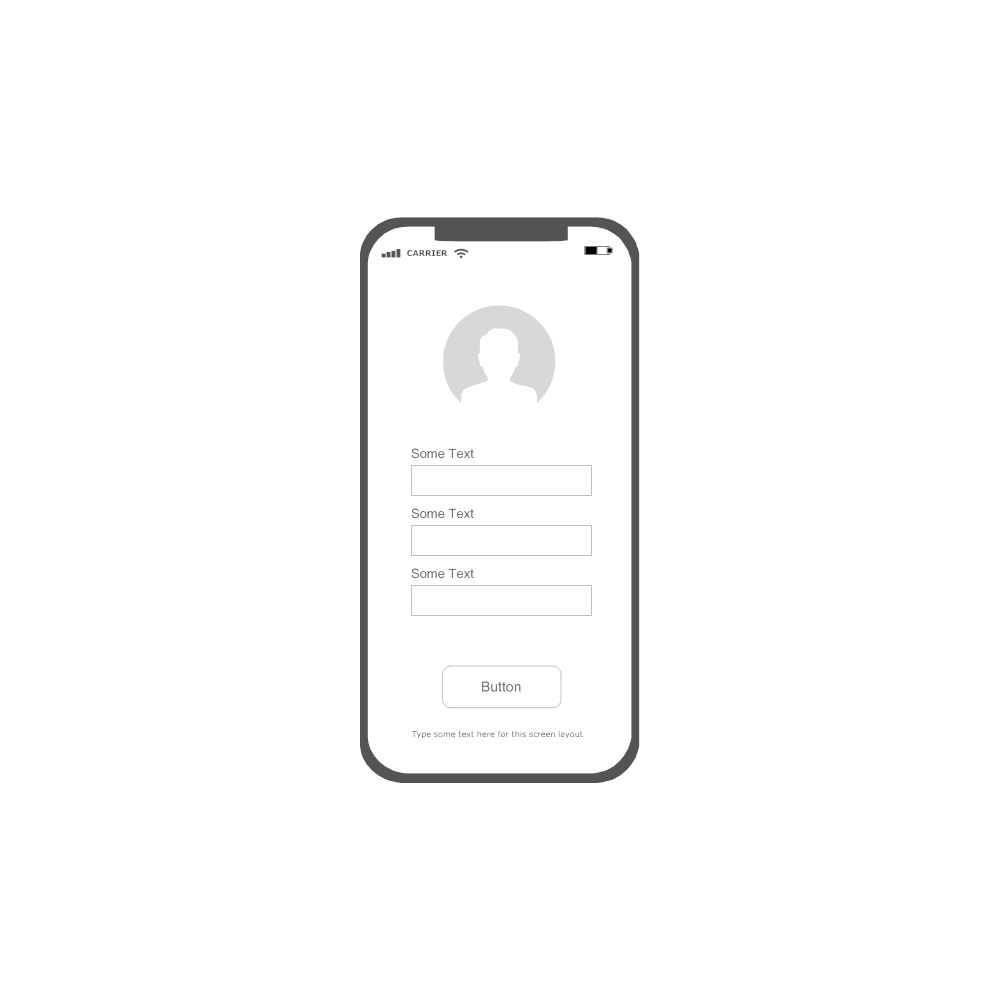 Example Image: iOS - Profile