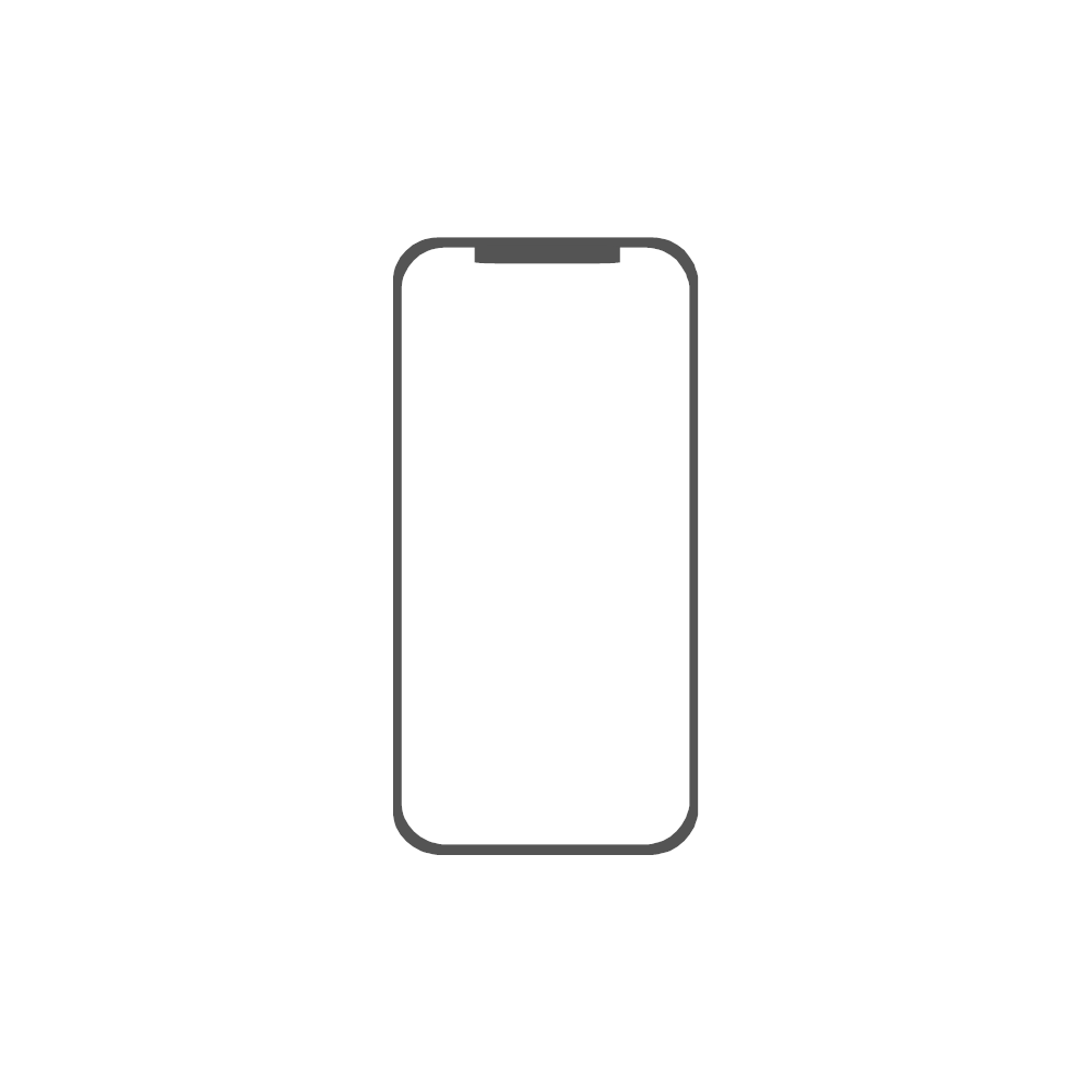 Example Image: iPhone X