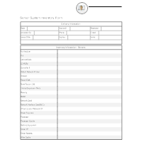 Server System Inventory
